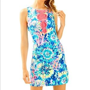 NWT Lilly Pulitzer Adara Shift Dress Dive In